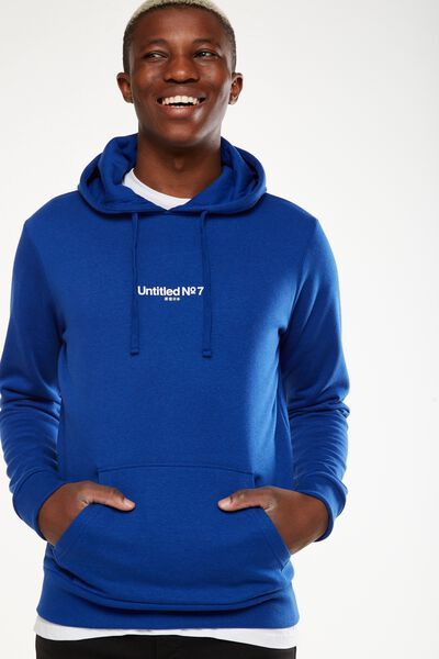 Fleece Pullover 2, ROYAL BLUE/UNTITLED NO 7