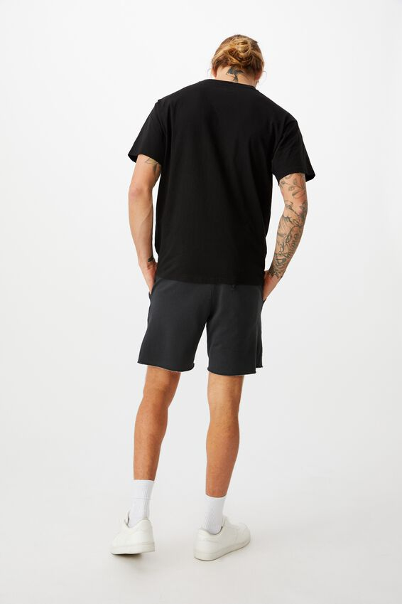 Pigment Fleece Short, PIGMENT BLACK