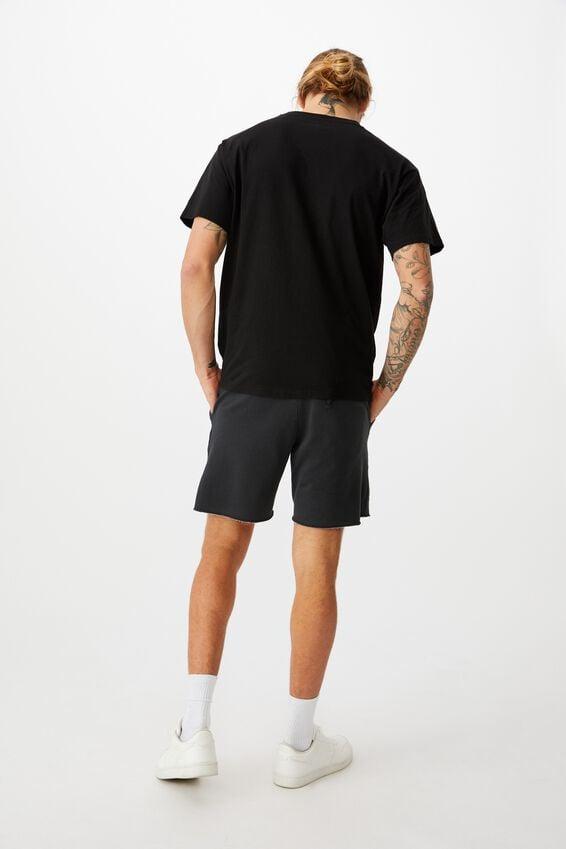 Pigment Fleece Short, PIGMENT BLACK