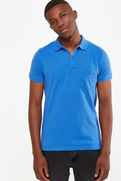 Icon Polo, BLUE POCKET SLIM