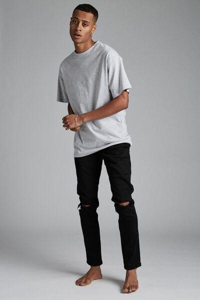 Super Skinny Jean, JET BLACK BLOW OUT