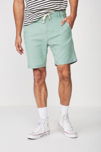 Tailored Casual Short, MISTY GREEN