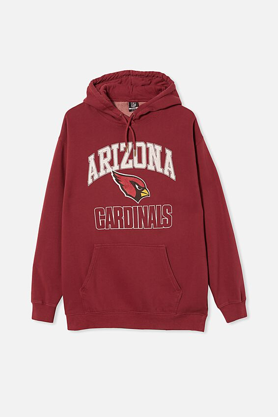 Premium Collab Fleece Pullover, LCN NFL BURGUNDY/ARIZONA