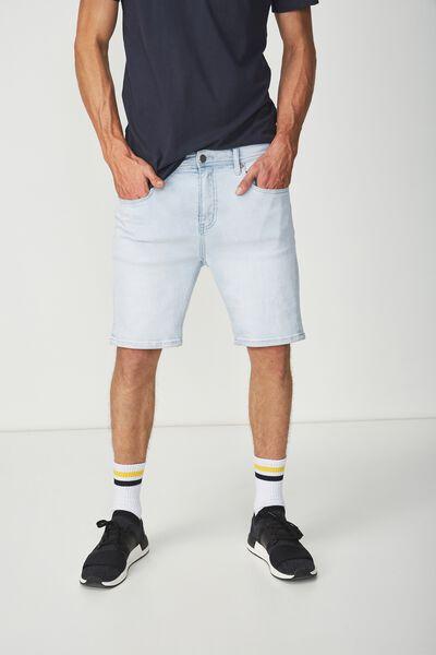 Skinny Straight Short, BLEACHED INDIGO