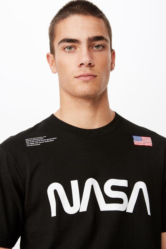 Tbar Collab Pop Culture T-Shirt, LC SK8 BLACK/NASA - LOGO