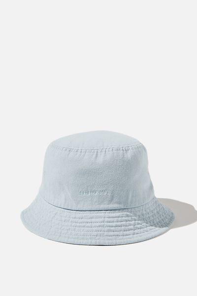 Bucket Hat, PASTEL BLUE/WEEKEND STUDIO