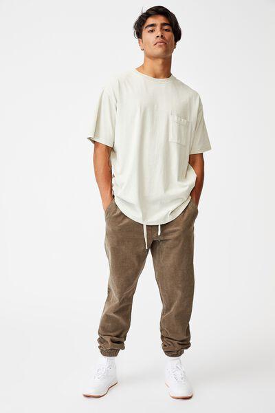 Drake Cuffed Pant, TAN CORD