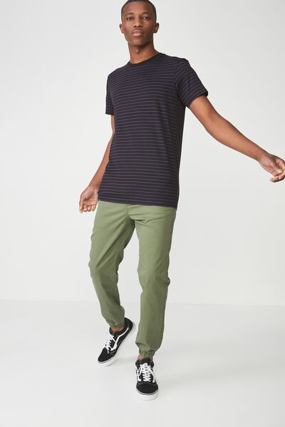Drake Cuffed Pant, SNAKE GREEN POCKET HERRINGBONE