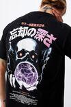 Tbar Art T-Shirt, BLACK/DEPTH OF OBLIVION