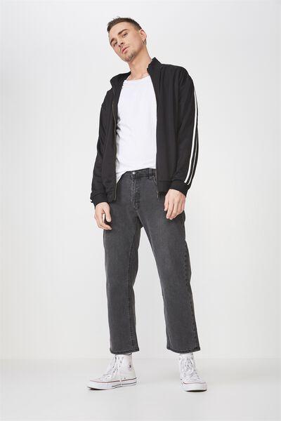 Vintage Straight Jean, VINTAGE BLACK
