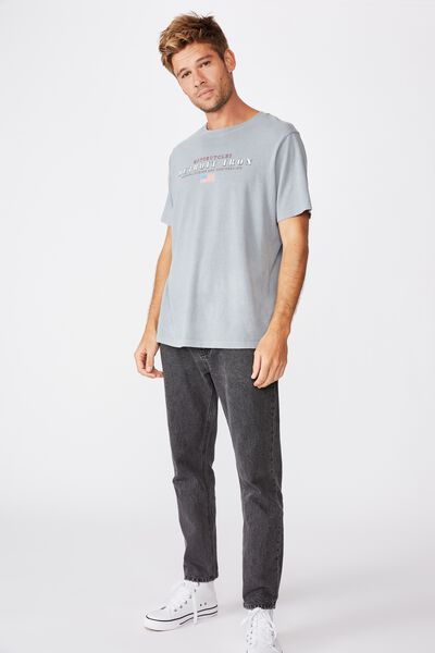 Bondi Tee, FADED SLATE/DETROIT IRON