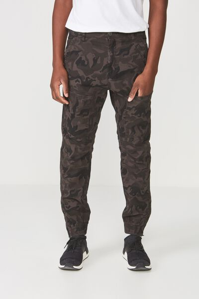 Urban Jogger, BLACK CAMO PATCH POCKET