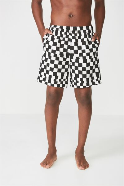 Crossover Short, CHECKERBOARD