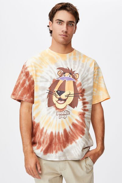 Special Edition T-Shirt, LCN STR YELLOW/STREETS-PADDLE POP LION
