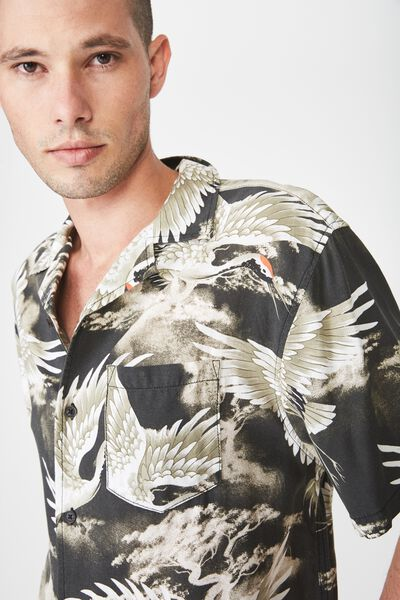 91 Short Sleeve Shirt, STORM CRANE