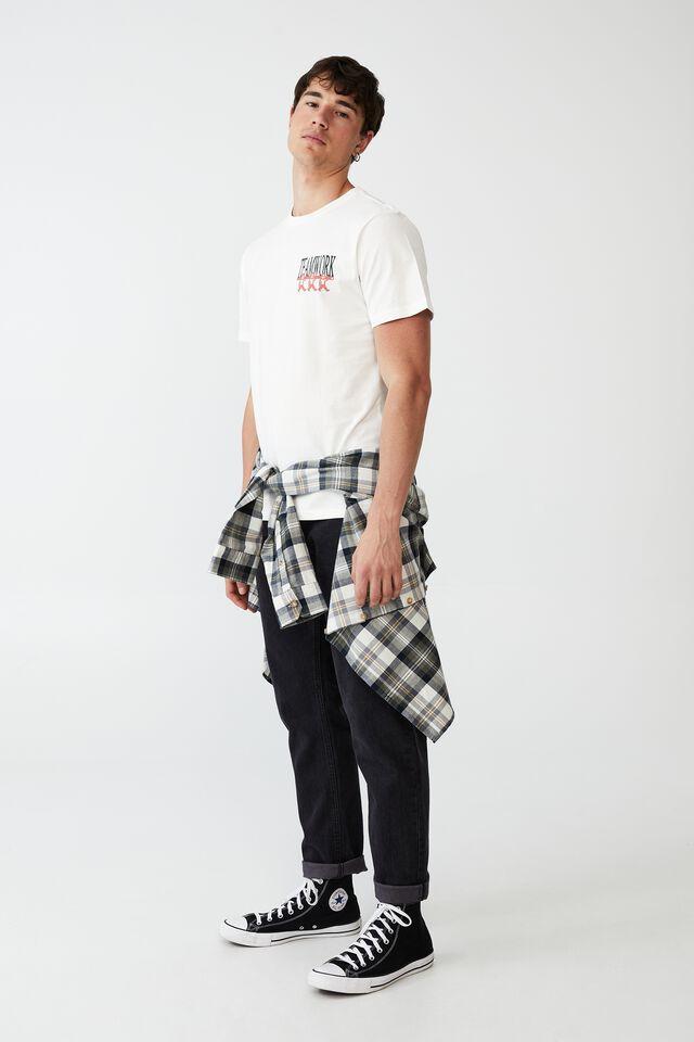 Tbar Art T-Shirt, VINTAGE WHITE/TEAMWORK