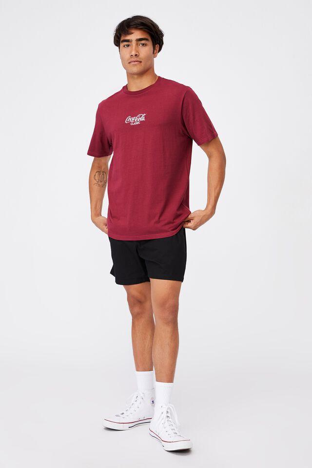 Tbar Collab Pop Culture T-Shirt, LCN CC ROSEWOOD/COCA COLA-CLASSIC