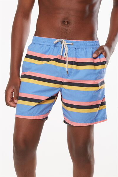 Kahuna Short, BLUE / SUN STRIPE