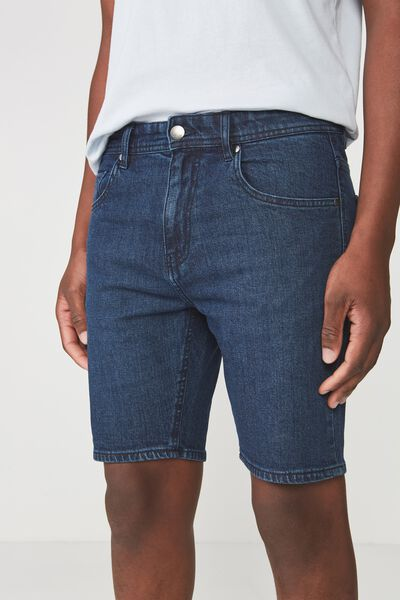 Skinny Straight Short, LAUNDRY BLUE