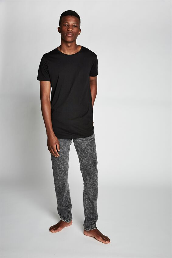 Slim Fit Jean, AGED GREY