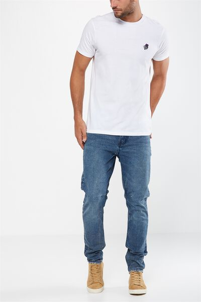 Tapered Leg Jean, WORK SHOP BLUE