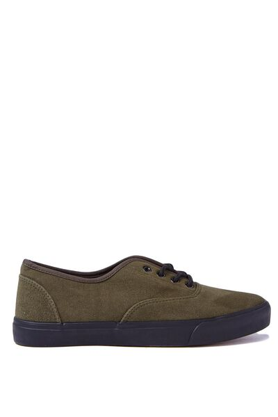 Joey Shoe, OLIVE SUEDE
