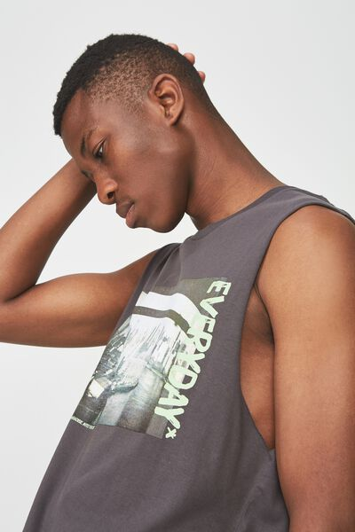 Tbar Muscle, FADED SLATE/EVERYDAY