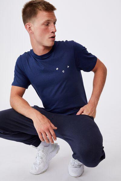 Tbar Text T-Shirt, INDIGO/NYC REVOLVE