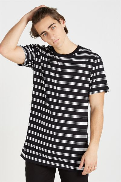 Dylan Tee, BLACK/WHITE STRIPE