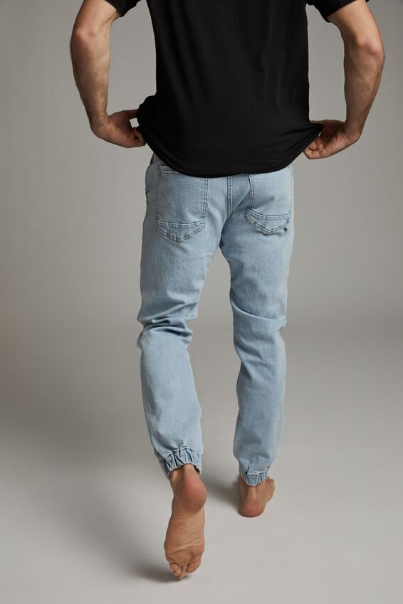 Slim Denim Jogger, BROOKLYN BLUE