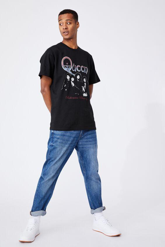 Tbar Collab Icon T-Shirt, LCN BRA BLACK/QUEEN-BOHEMIAN RHAPSODY