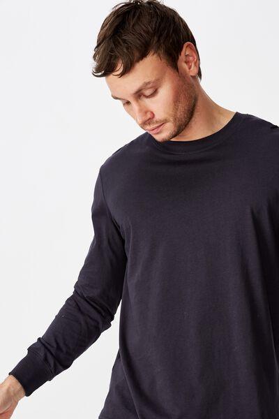 Tbar Long Sleeve T-Shirt, TRUE NAVY