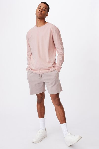 Tbar Long Sleeve T-Shirt, DIRTY PINK