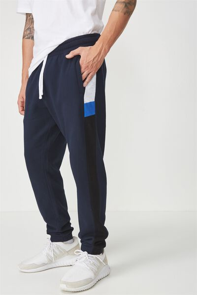 Classic Track Jogger, TRUE NAVY/VINTAGE STRIPE