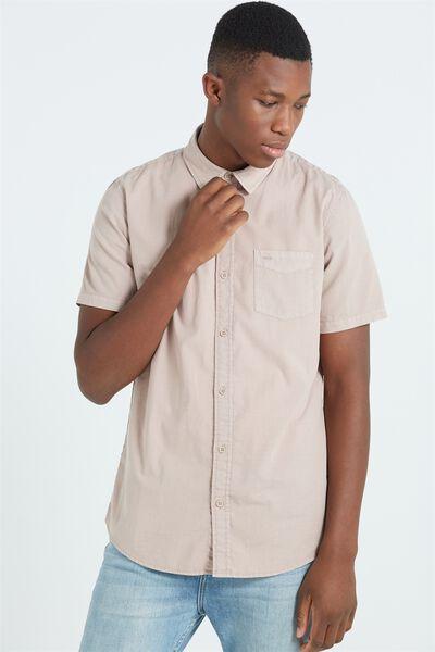 Sunset Short Sleeve Shirt, WASHED PINK