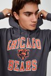 Premium Collab Fleece Pullover, LCN NFL FADED SLATE/CHICAGO BEARS