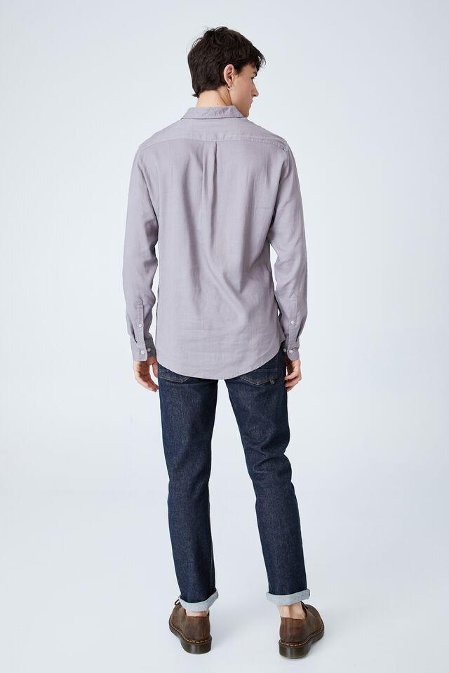 Ashby Long Sleeve Shirt, WASHED BRICK