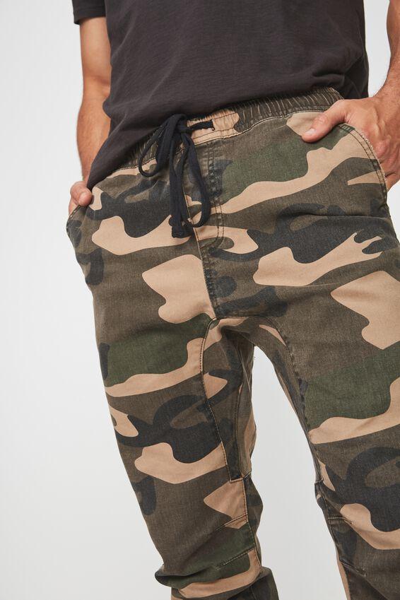 Slim Urban Zip Jean, DELTA CAMO