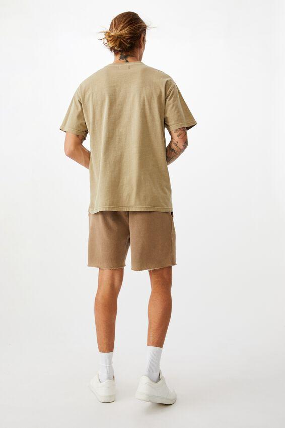 Pigment Fleece Short, PIGMENT TAUPE
