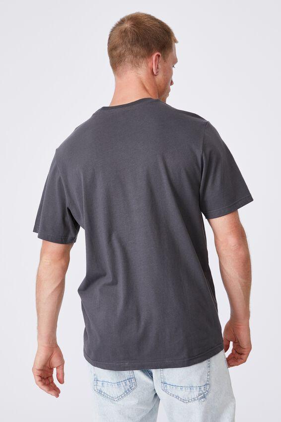 Tbar Collab Music T-Shirt, LCN LN FADED SLATE/NIRVANA-SPIRAL