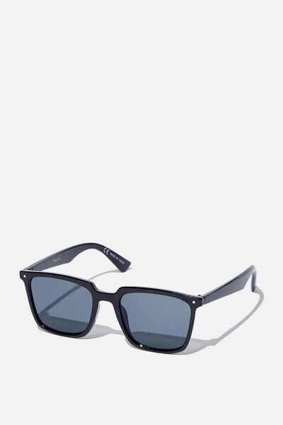 Newtown Sunglasses, BLACK