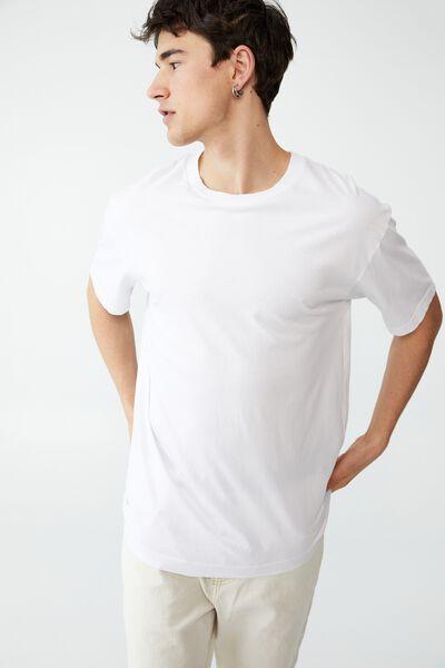 Organic Loose Fit T-Shirt, WHITE