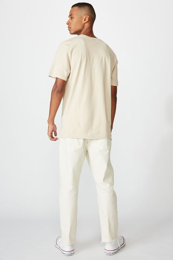 Tbar Sport T-Shirt, PEARL/COLLEGE CREST