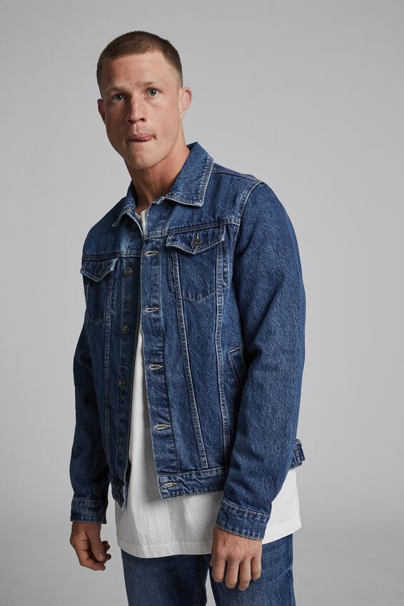 Rodeo Jacket, COOGEE BLUE