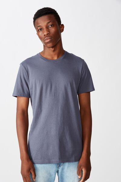 Essential Crew Tee, DUSTY DENIM