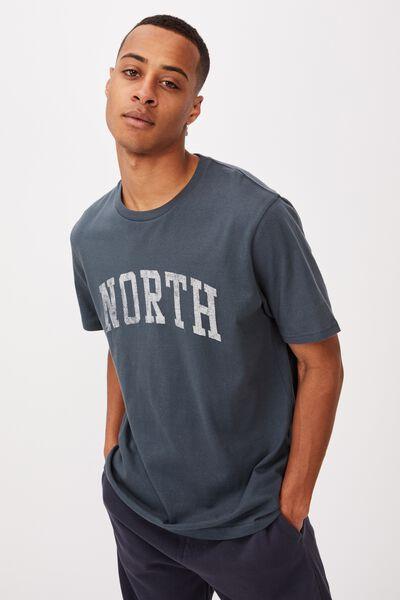 Tbar Sport T-Shirt, OCEAN TEAL/NORTH