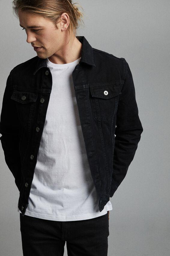 Rodeo Jacket, BLACK CANVAS
