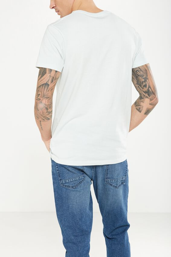 Essential Crew T-Shirt, CLEARWATER BLUE