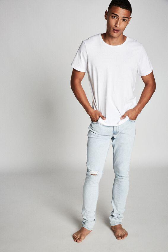 Super Skinny Jean, GHOST BLUE + BLOWOUT