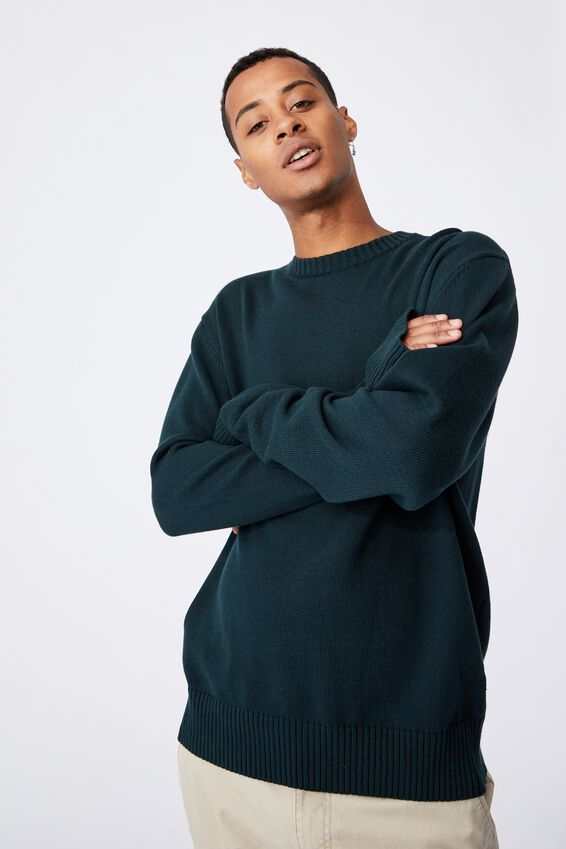Crew Knit, TEAL